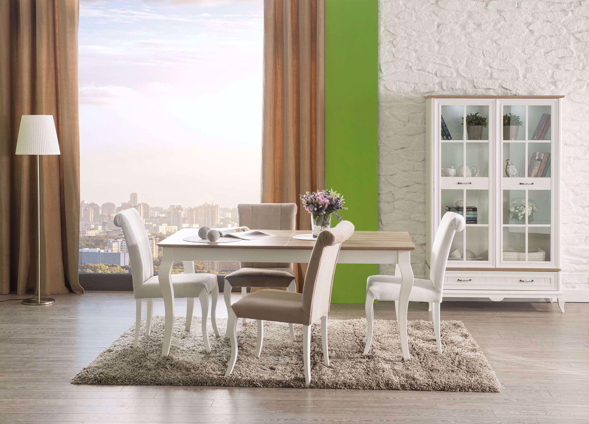 Angelic Sırtı Topuzlu Klasik Sandalye