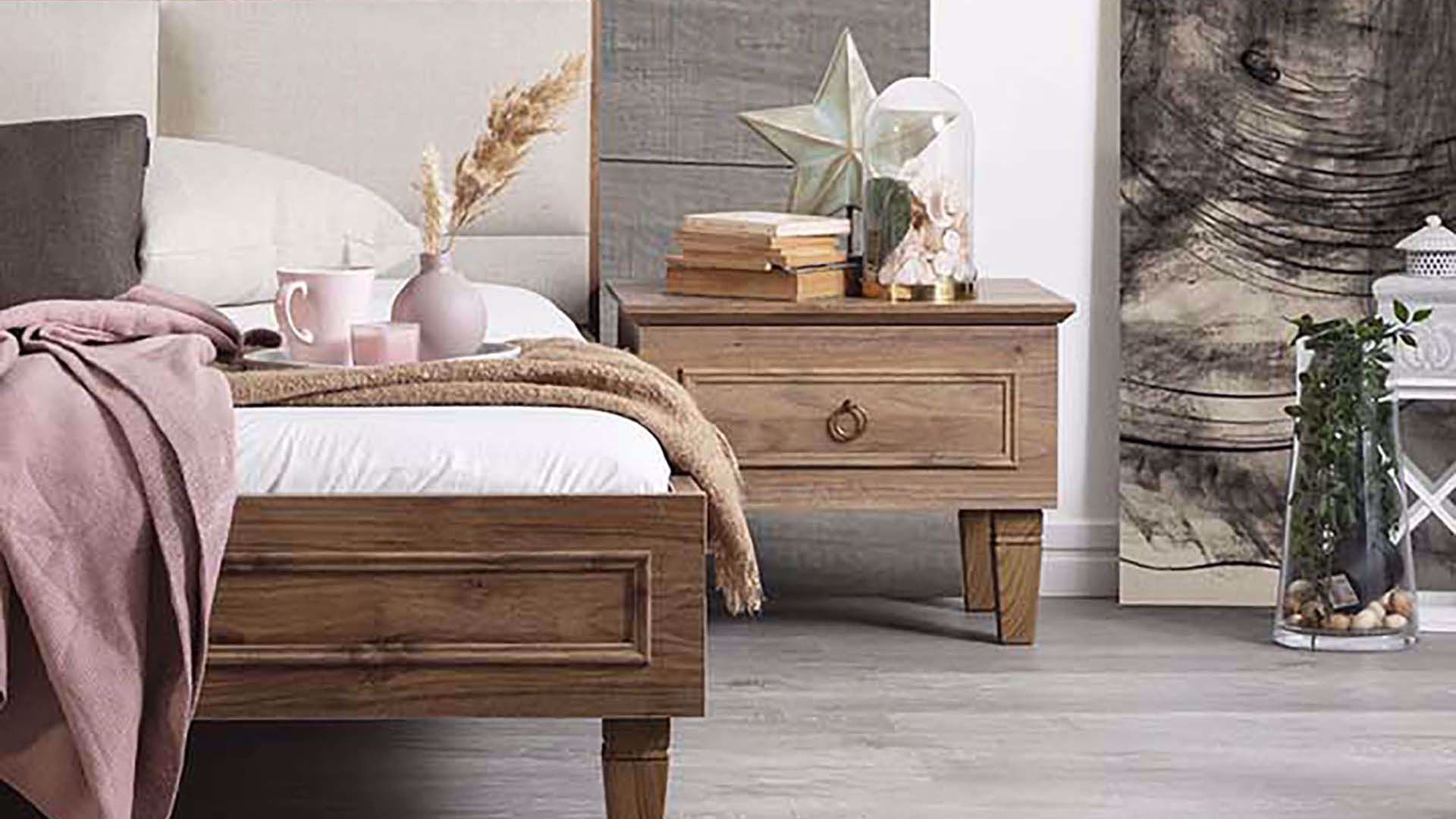 Cara Nightstand (Amalfi Walnut)