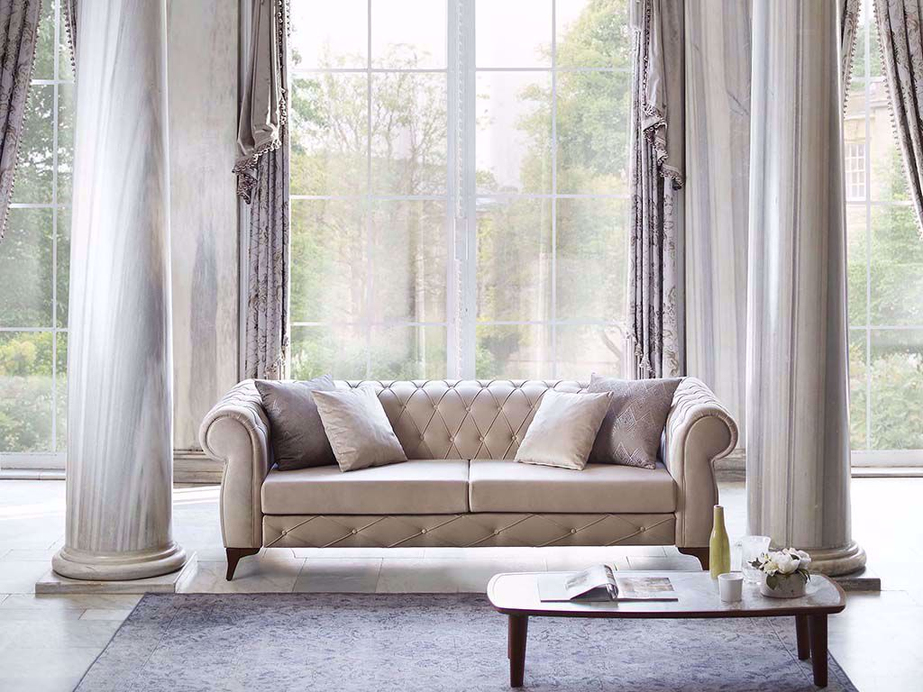Sophia Chesterfield Two-Seat Sofa