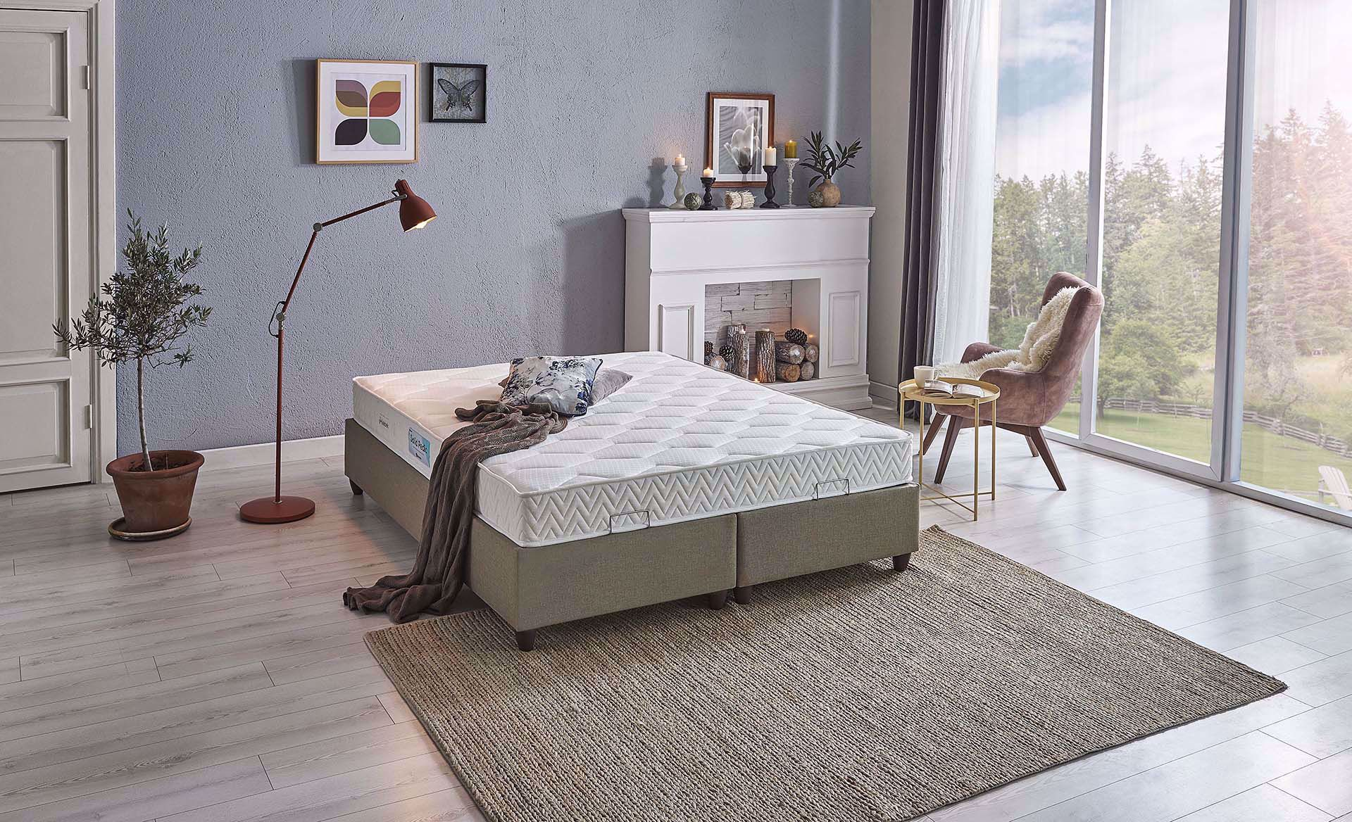 Dream Collection Solid Pedic Yatak 160*200 cm