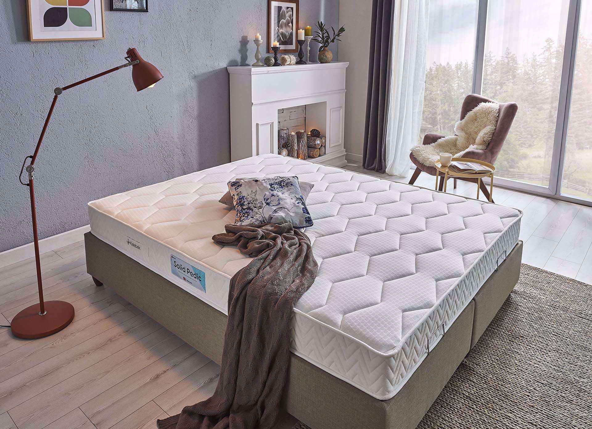 Dream Collection Solid Pedic Yatak 90*190 cm