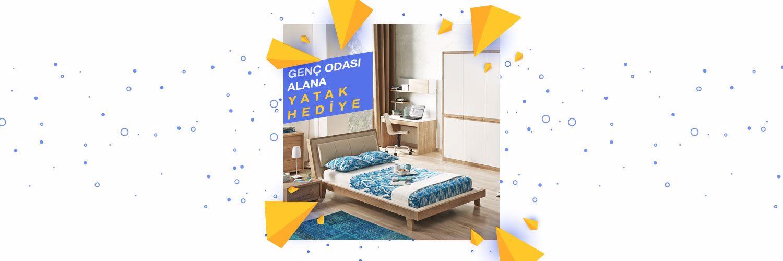 Picture of Genç Odası Alana Yatak Hediye!