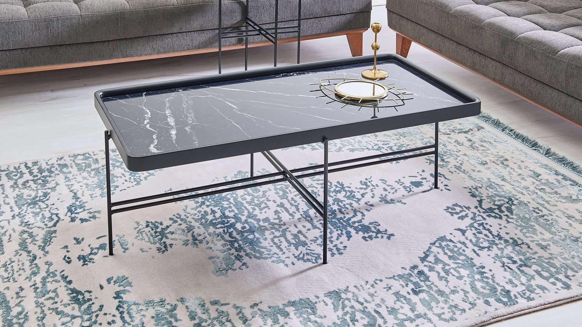 Mabel Coffee Table (Marble)
