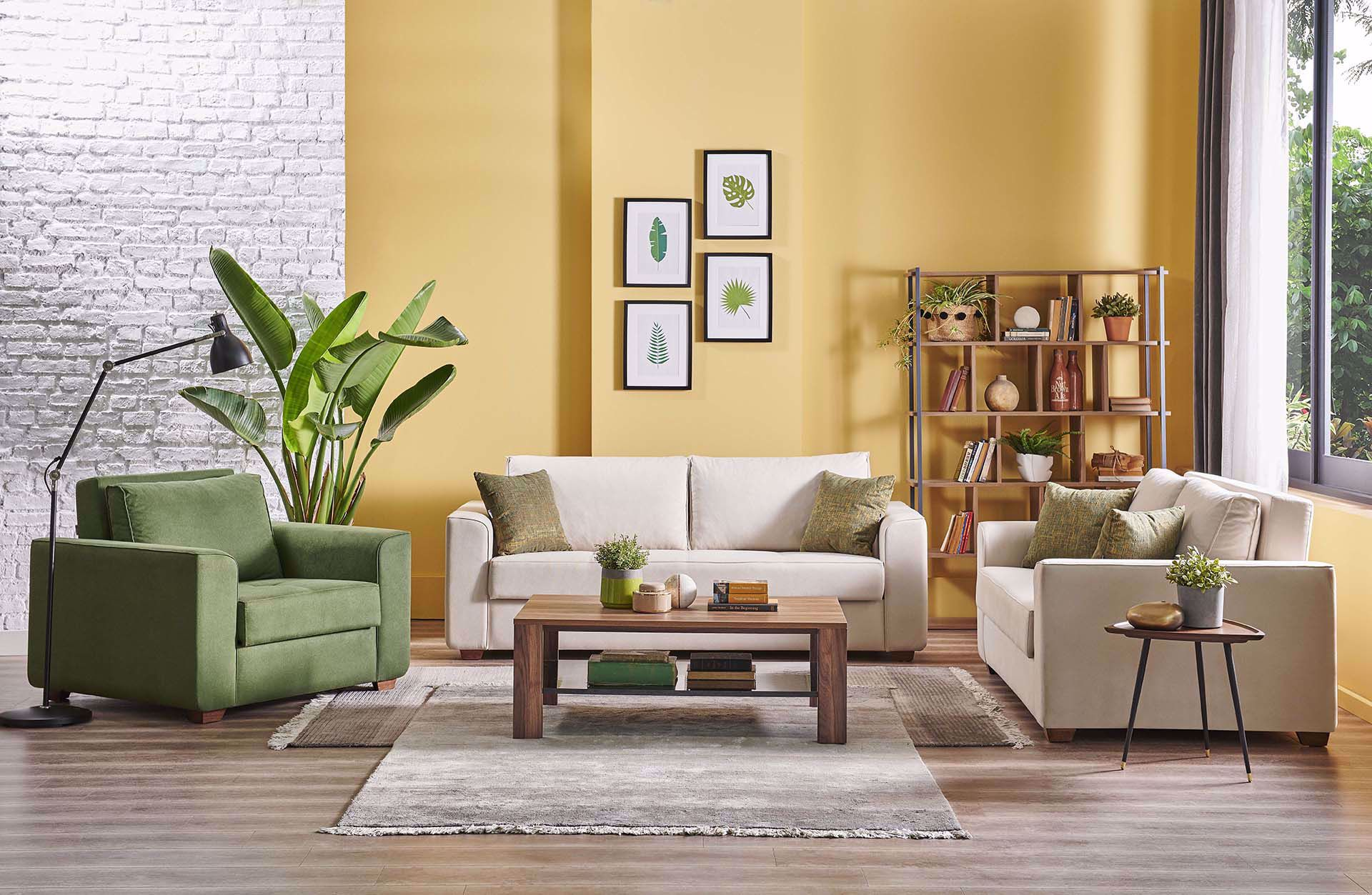 Verna Sofa Set
